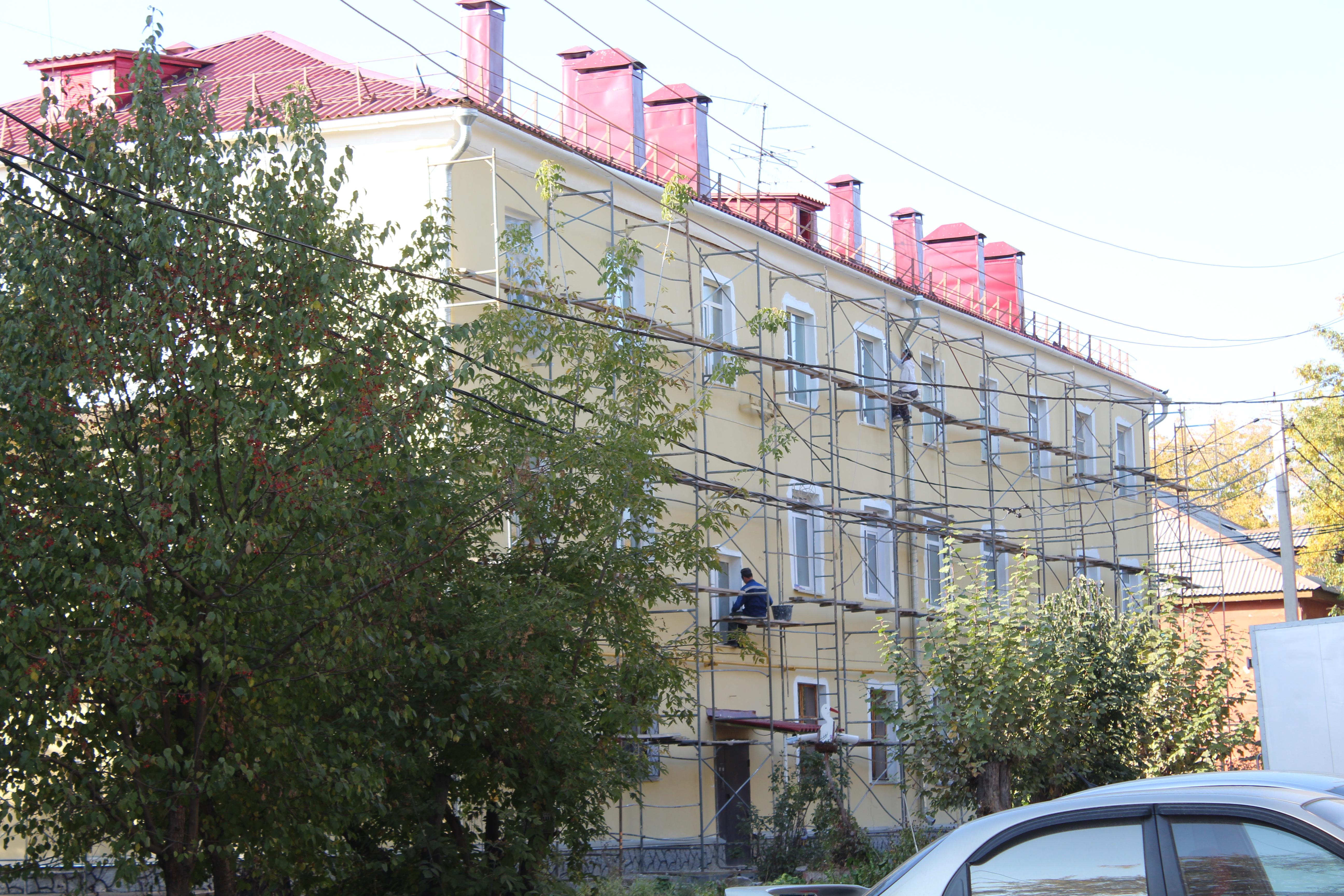 Акт обследования фасада капитального ремонта